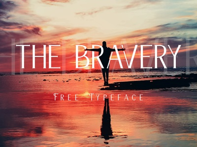 The Bravery - Free Typeface vintage suke toejoeh stylish serif font retro pollux of geminorum free font free commercial use display font cool font classic font bravery