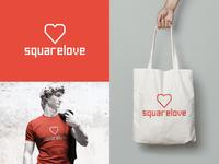 Squarelove | New Brand Identity