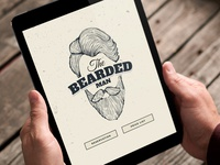 The Bearded | Landing Page