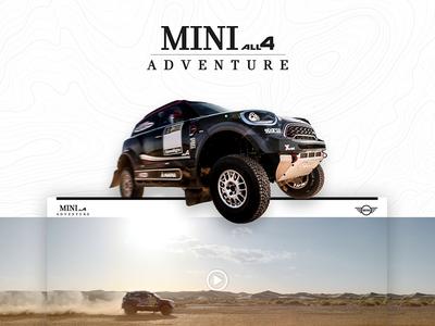 MINI ALL4 ADVENTURE | Landing Page
