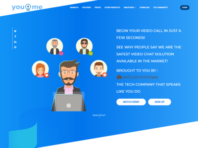 Youvidume website - video chat services