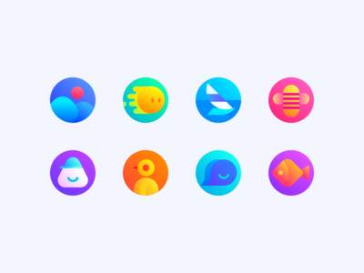 cute icon design