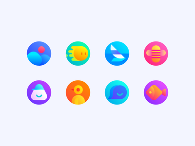 cute icon design branding minimal flat illustration app vector icon