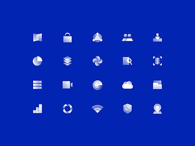 big data icon design ux branding alpha illustration ui icon