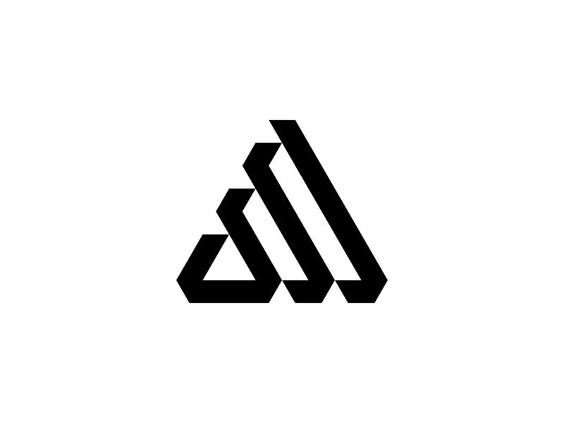 CM Monogram logobranding geometriclogo geomatric letters logo design logogram negative-space brand monogram logotype design lettermark logodesign branding logo