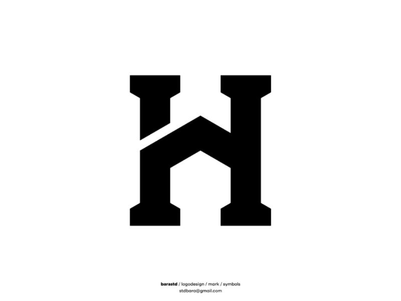 Home design icon symbols mark lettermark lettertype branding brand logo design logo