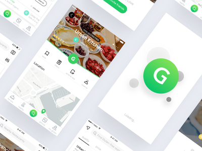 Gluten Free Food Delivery App ui app delivery food gluten-free