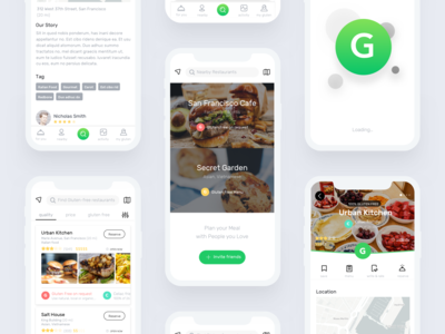 Gluten Free Food Delivery App