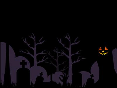 Time For Ghosts :O colorful creative design illustration design