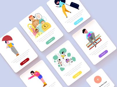 Cards =P icon vector colorful creative design illustration design