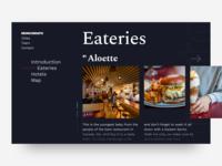 Eateries List