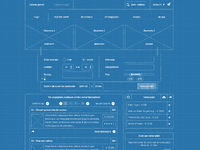 Wireframes home