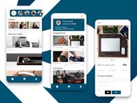 Gift Recommendations ecommerce design ecommerce app interface adobexd design app ui ux design