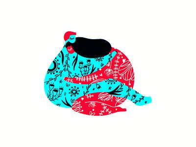 Love ❤️ flat procreate art procreate minimal illustrations illustration art illustration art