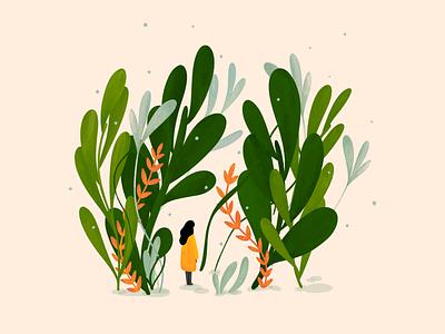 Flora 🌿 artwork artist design procreate art procreate illustrations illustration art illustration art