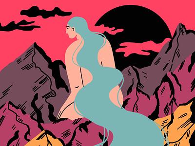 Mountains 🏔 procreate art procreate illustrations illustration art illustration art