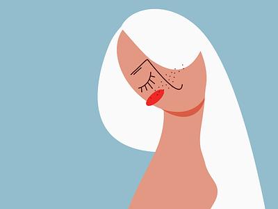 Women blue vector illustration vector art vector minimalistic clean minimal flat design art illustration art illustration illustrator