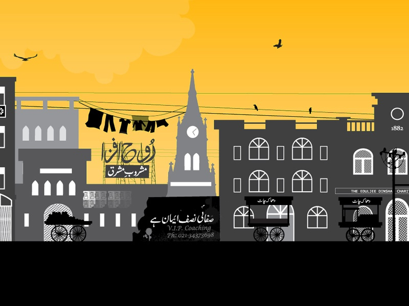 The Old City by rumaisa mughal on Dribbble