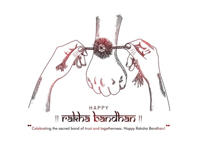 Raksha Bandhan(bond of care and love)