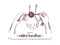 Raksha Bandhan(bond of care and love)