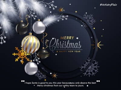 Merry Christmas shiny cherry pie decoration balls december winter snow snowflakes christans new year new feather christmas merry animation abstract dribble happy vector illustration design