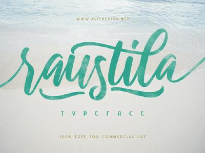 Raustila Free Typeface