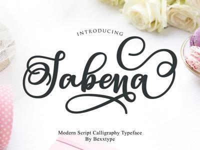 Sabena - Free Calligraphy Font