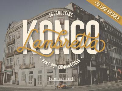 Lambretta Kongo Duo Font