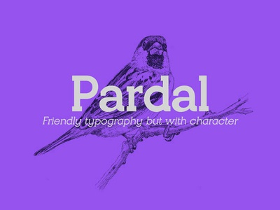 Pardal Free Font Family