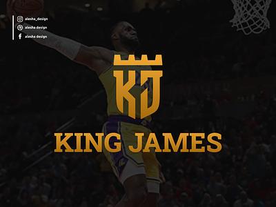 King James, KJ initials logo design king james kj gold marketing logo letters lettermark lettering letter inspirations initials initial excellent entrepreneur elegant design branding brand awesome