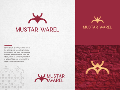 mustar warel logo for sale initial initial logo awesome design branding lettering letters dribbble behance instagram apparel elegant excellent typography initials redesign inspirations infinity initials logo