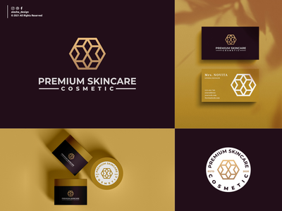 premium logo design design premium logo vector cosmetic luxury beauty spa product symbol graphic illustration template elegant business alesha design awesome inspirations dribbble salon