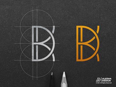 KD or DK LOGO DESIGN grid logo logo design kd dk awesome initial inspirations initials letter lettermark personal wordmark letters modern person company creative branding alesha design line art