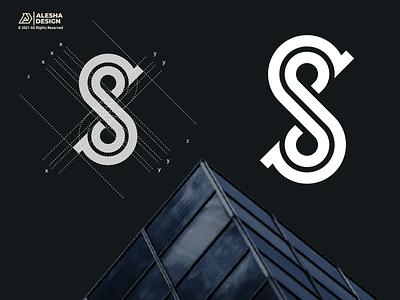 SS Logo Design design brand logo inspirations initial identity type brandmark monogram awesome logos designs lettermark logotype designer logo design branding ss letters alesha design