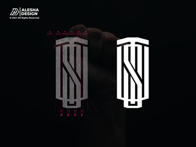 TSU Logo Design sport apparel law real estate agency grid monogram branding letters initials inspirations awesome design logo sut tus uts tsu