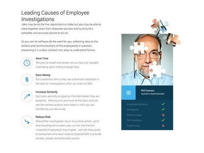 Employee Profile Card By Aaron  Dribbble