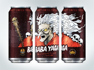 Baba Yaga Beer Can