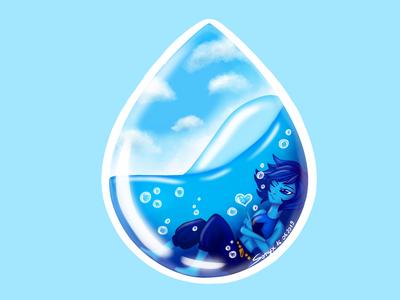 Lapis Lazuli (Steven Universe FanArt)