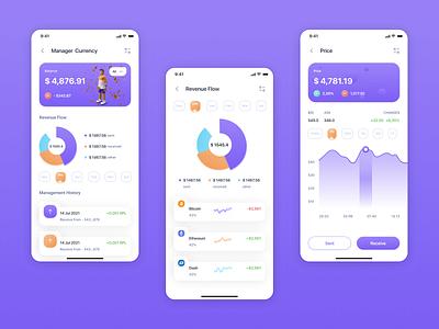 Finance Futures vector branding ux ui design app