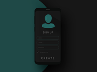 Daily UI #001 - Sign Up Page
