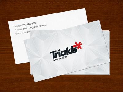 Triakis business card