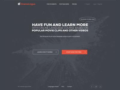 CinemaLingua Web