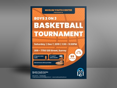 MYC Basketball Flyer
