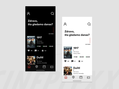Cineplexx App Redesign