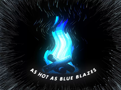 Campfire loop animation blue after effects after effect aftereffects motion graphics motion graphic motiongraphics motion design 3d animation 3d artist black blender3d blender 3d 2d animation 2danimation motion animation fire campfire