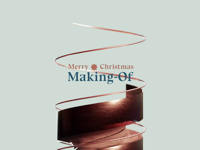 🎄 Christmas tree   Making-of motion graphics animation process making of makingof blender 3d art blender3d 3d christmas christmas tree merry xmas