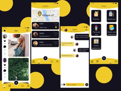 FAM App Design.