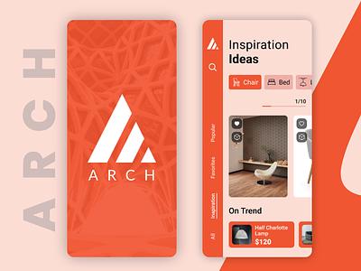 Architecture App typogaphy idea architecture ios app design ios mobile app design mobile design mobile app mobile typography mockup branding icon uidesign ui  ux illustration uiux design ux ui