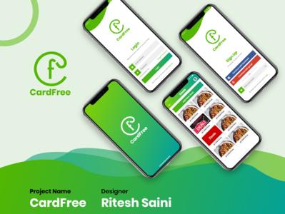 CFree Mobile App Mockup Design