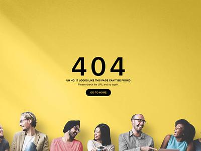 404 Page Design uiux branding website typography mockup design page 404 web uxdesign uidesign ui  ux ux ui